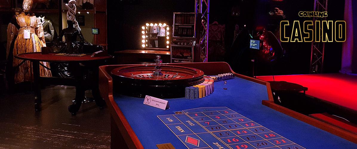 Vuokraa oma Casino-tapahtuma, Ruletti ja Black Jack