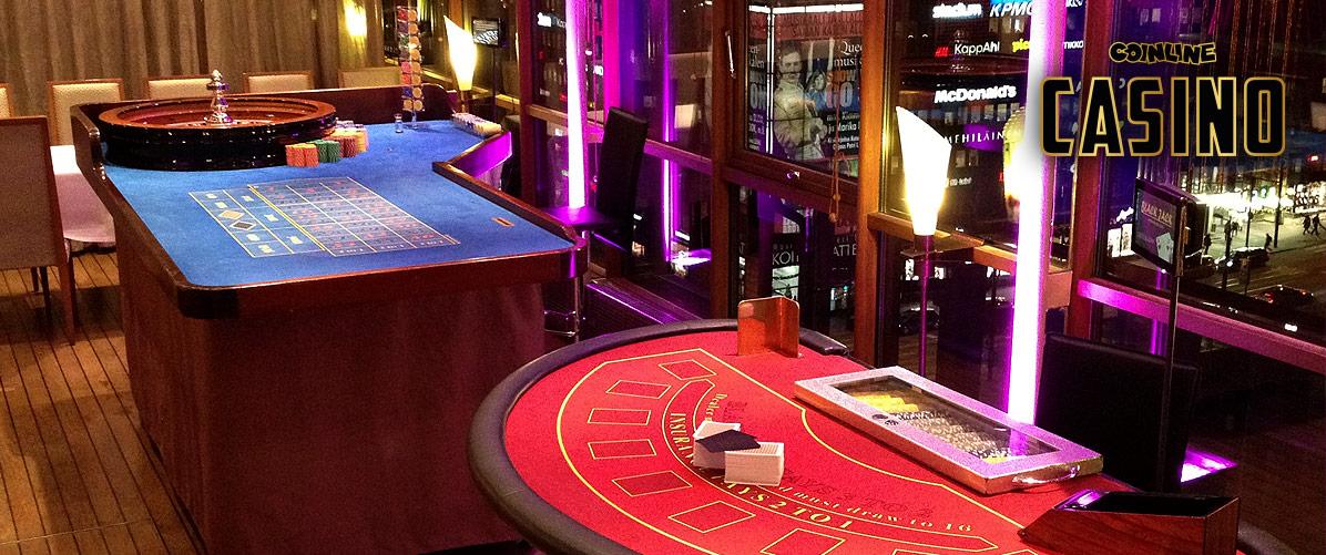 Tyylillä oma Casino-tapahtuma, Black Jack ja Ruletti