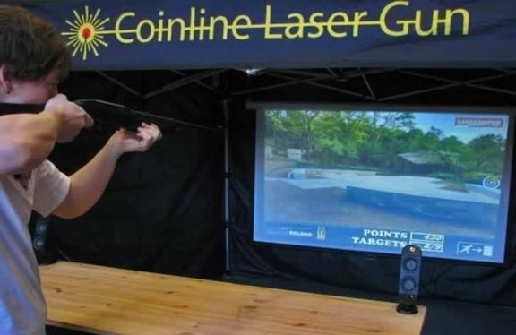 Lasershot laserammuntateltta