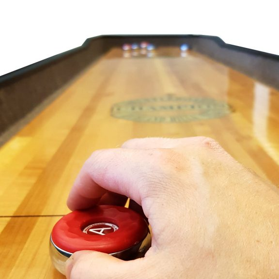 9:n jalan Shuffleboard-pöytä