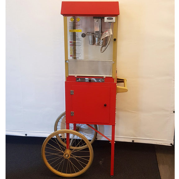 Popcornkärry