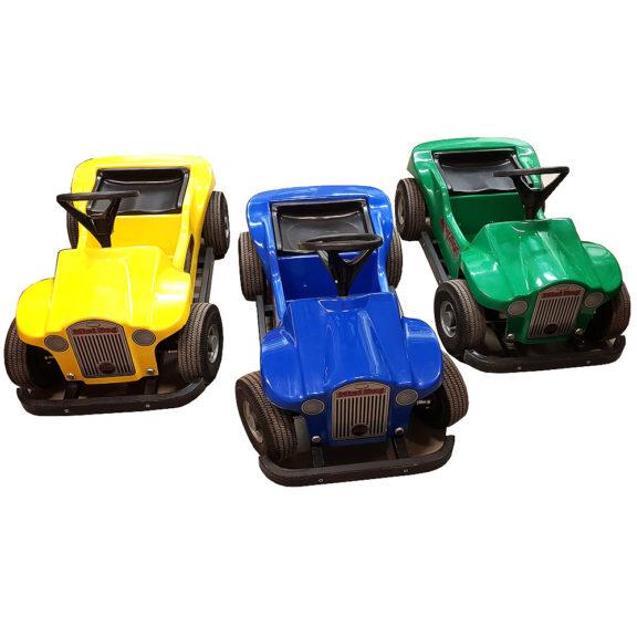 Lasten akkuautot – 3kpl