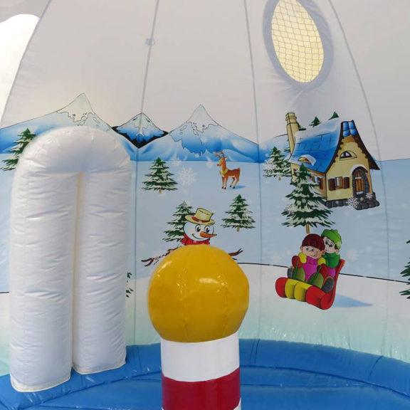 Lumi-kupolipomppulinna