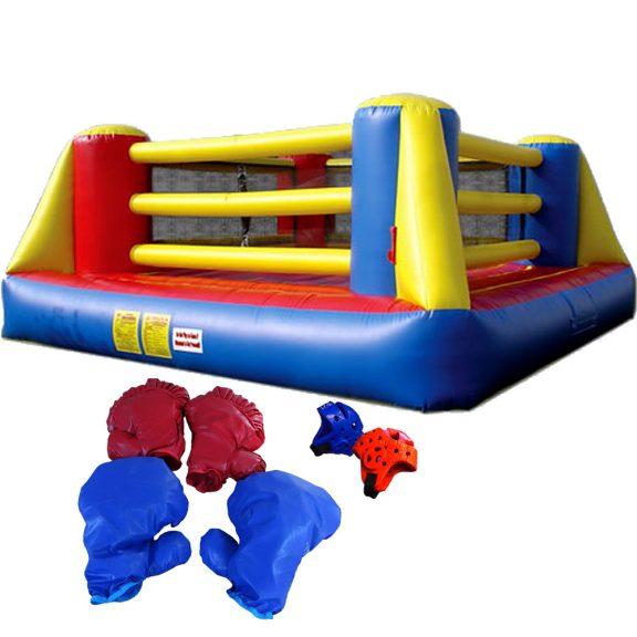 Nyrkkeilykehä ja jättinyrkkeilyhanskat