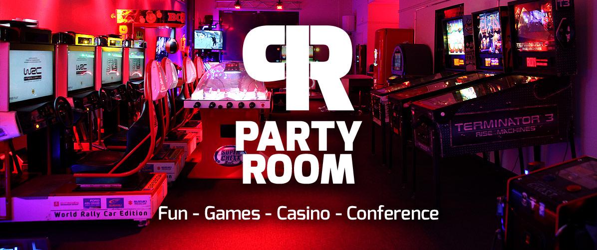 Party Room ainutlaatuinen tapahtuma- ja juhlatila