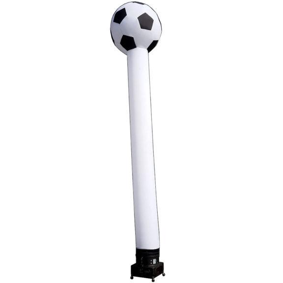 Puhallettava jalkapallo-koriste