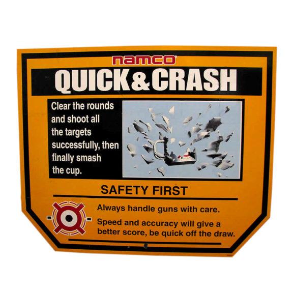 Ammuntapeli Quick & Crash