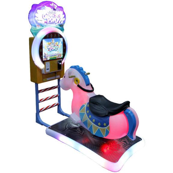 Ratsastussimulaattori lapsille