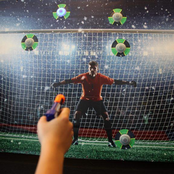 Interaktiivinen reaktioseinä – jalkapallo