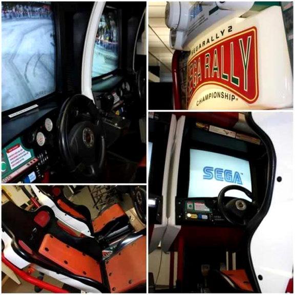 Sega Rally 2 -rallipeli