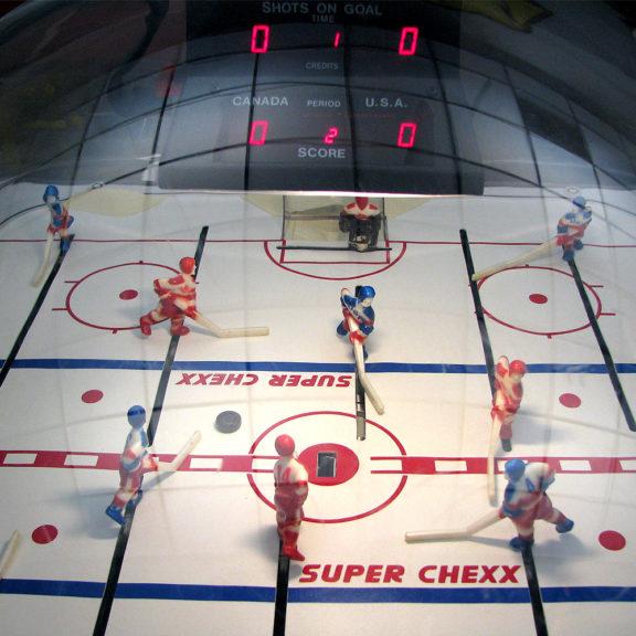 Super Chexx Pro -pöytäjääkiekkopeli